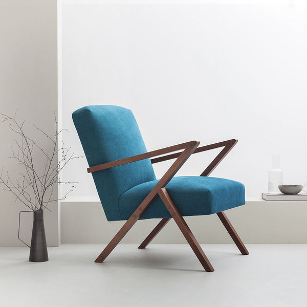 Retrostar Armchair - Sternzeit Design - Basic Line in Turquoise | Retro Armchair
