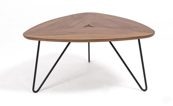 Coffee Table - Wood Triangle Coffee Table by Belgravia Design-Primrose Homeware