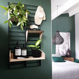 "Fency Wall Rack- ""Small"" - 80x40cm 