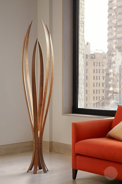 Floor Lamp - Iris in Medium by Macmaster Designs-Primrose Homeware