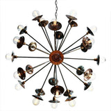 "Lighting ""Tokyo Sputnik"" Chandelier Mullan Lighting"