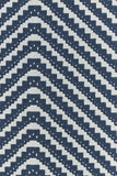 Chevron Wallpaper | Blue | Designer Wallpaper from 'Barneby Gates'-Primrose Homeware