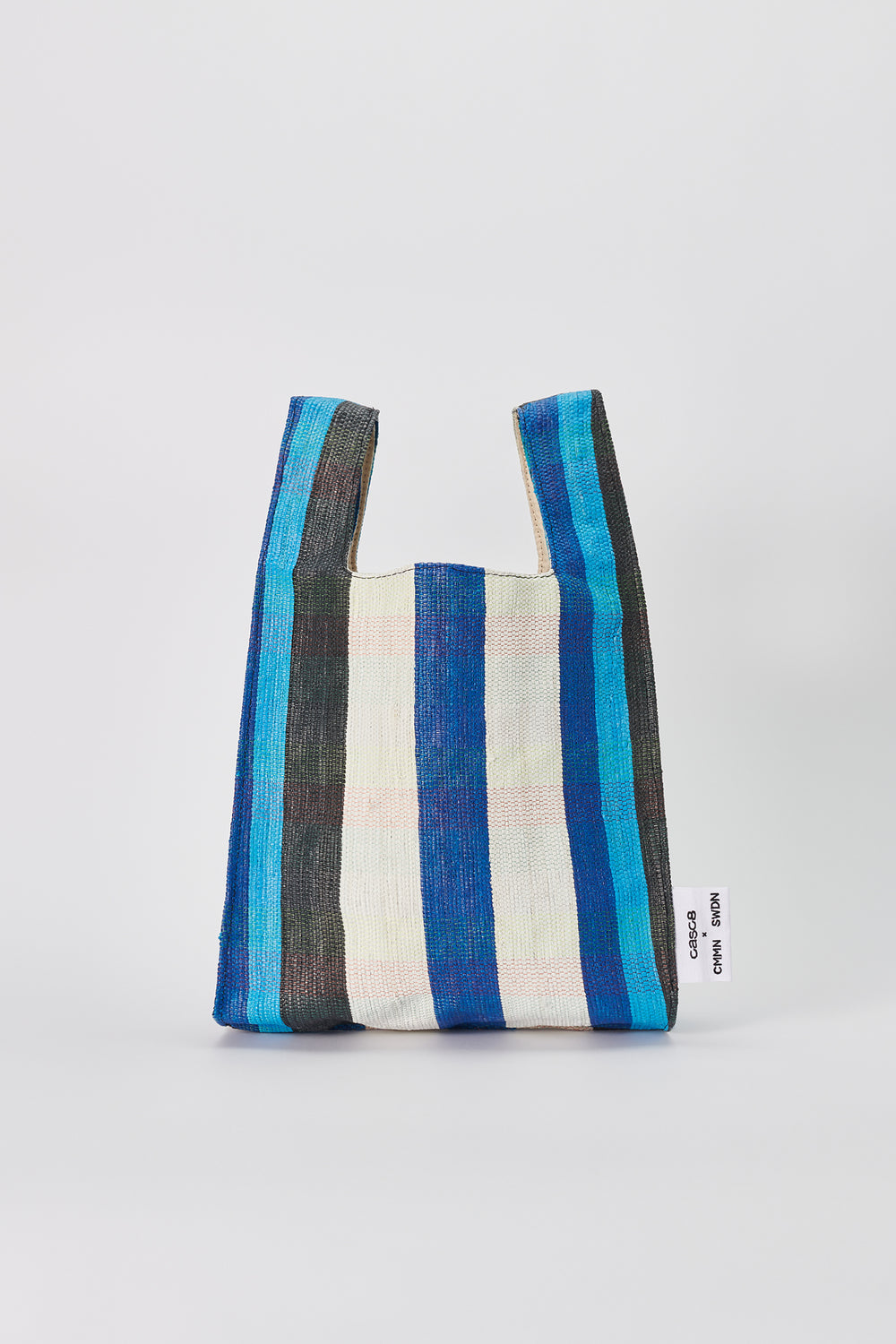 Shopper bag blue stripe