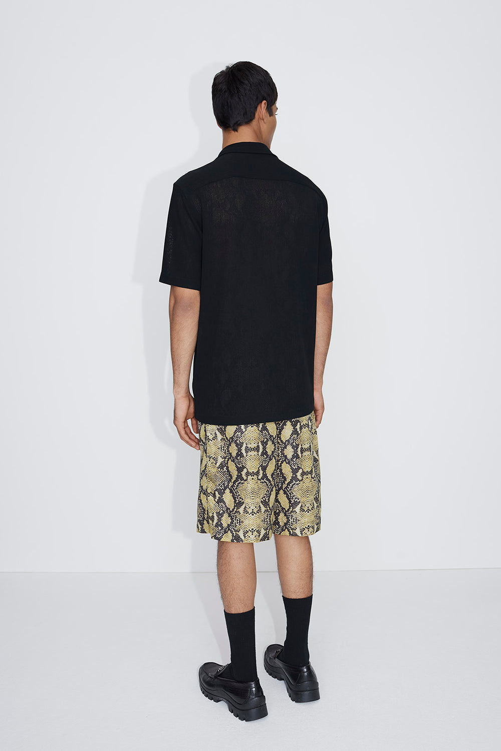Cody drawstring shorts snake