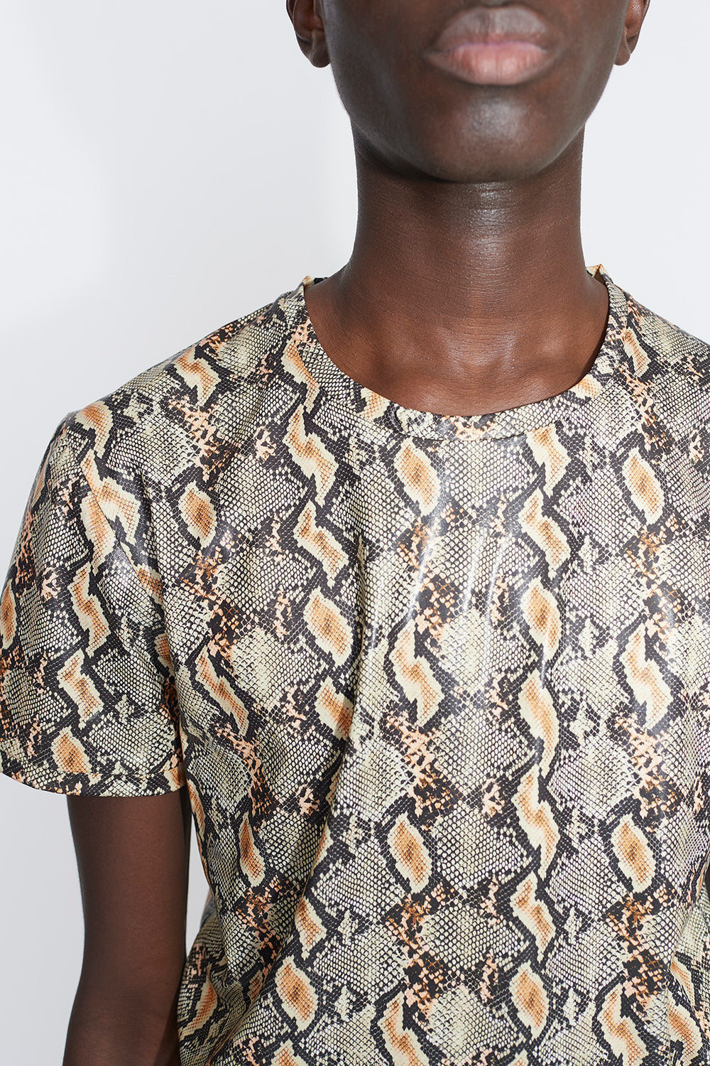 Aries slim fit t-shirt snake