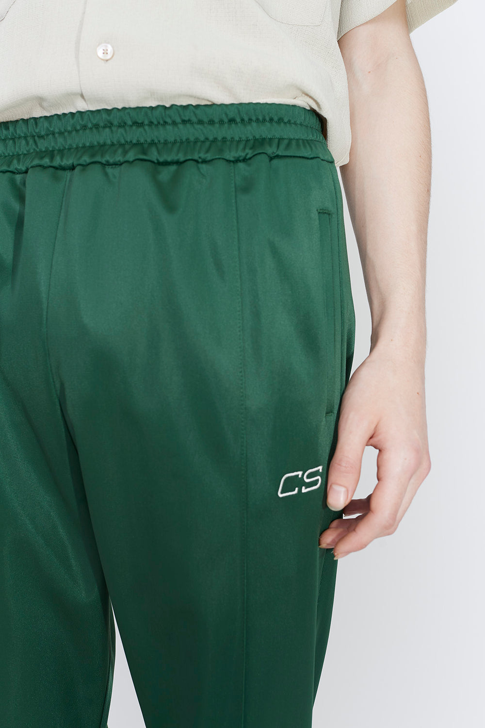 Chuck tracksuit trousers green