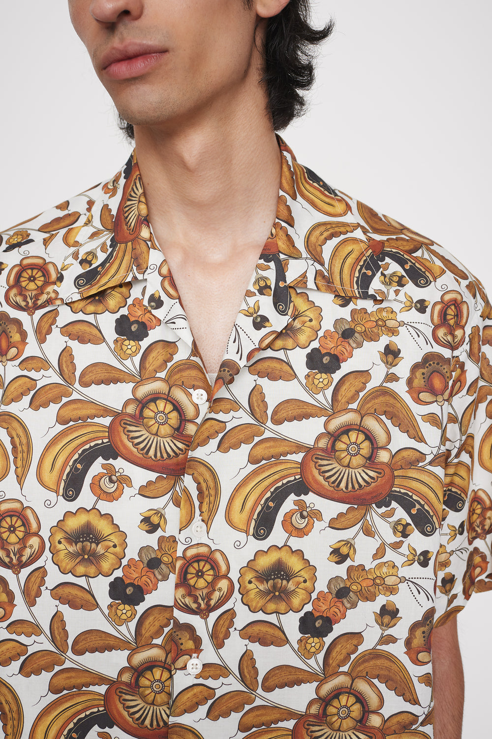 Sol printed shirt white floral