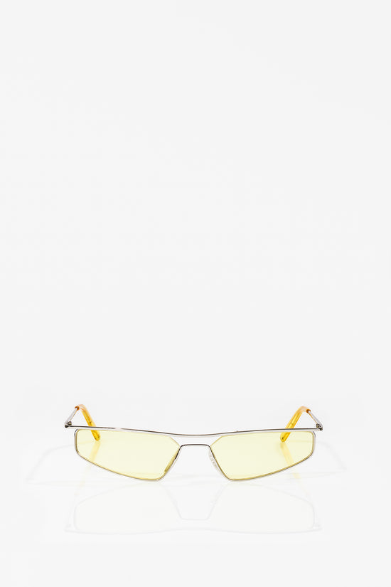 Neo Sunglasses Silver Electric Yellow