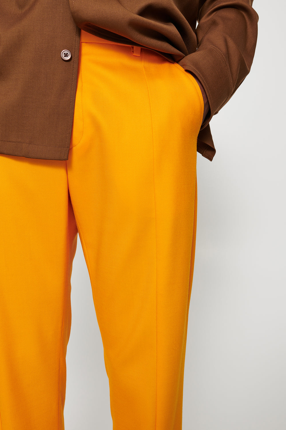 Dale split trousers orange M19W471