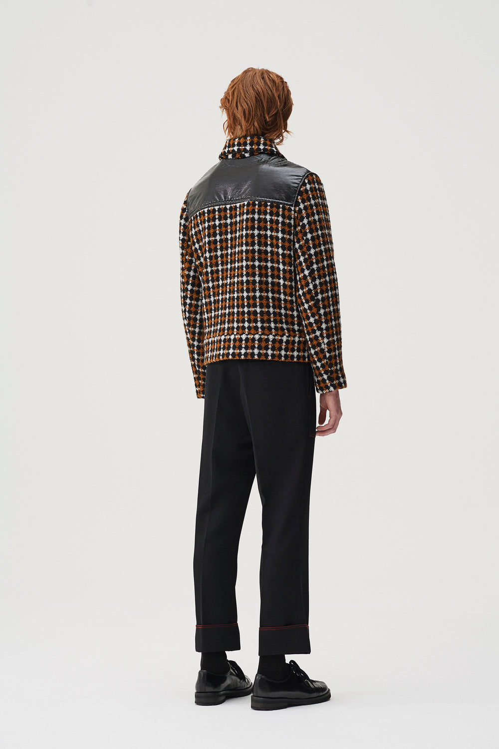 Kurt Jacket Brown Check
