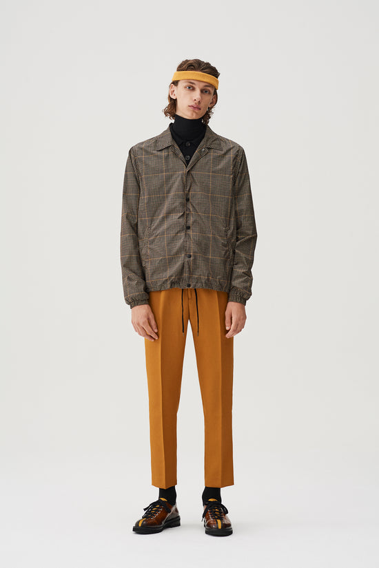 Igor Coach Jacket Beige Check