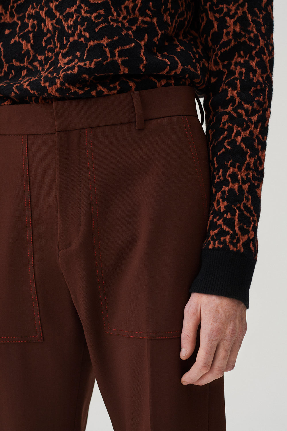Rad Trousers Clay