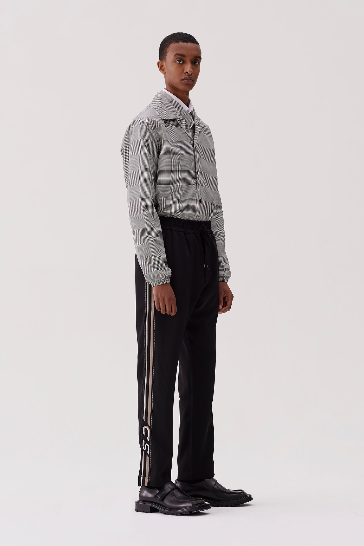 Buck Tracksuit Trousers Black Grey