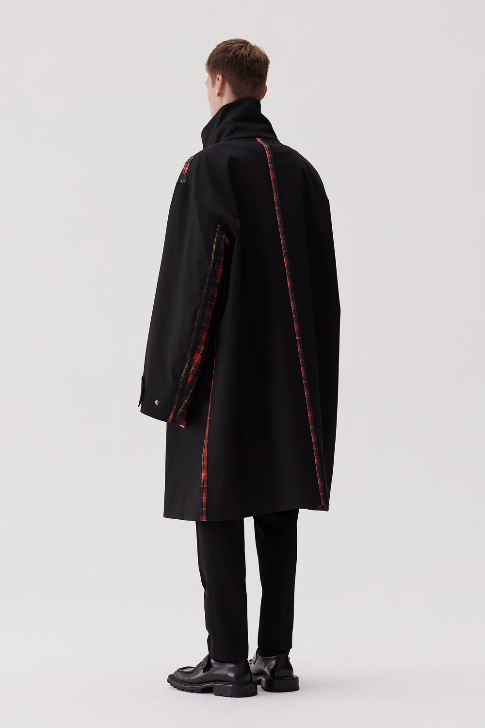 Ivan Car Coat Black