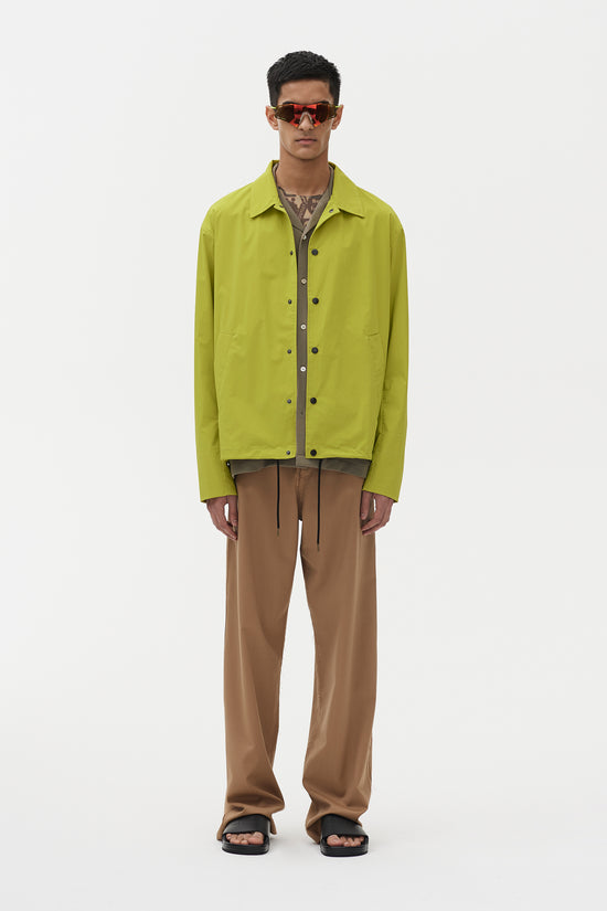 Spencer Coach Jacket Lime