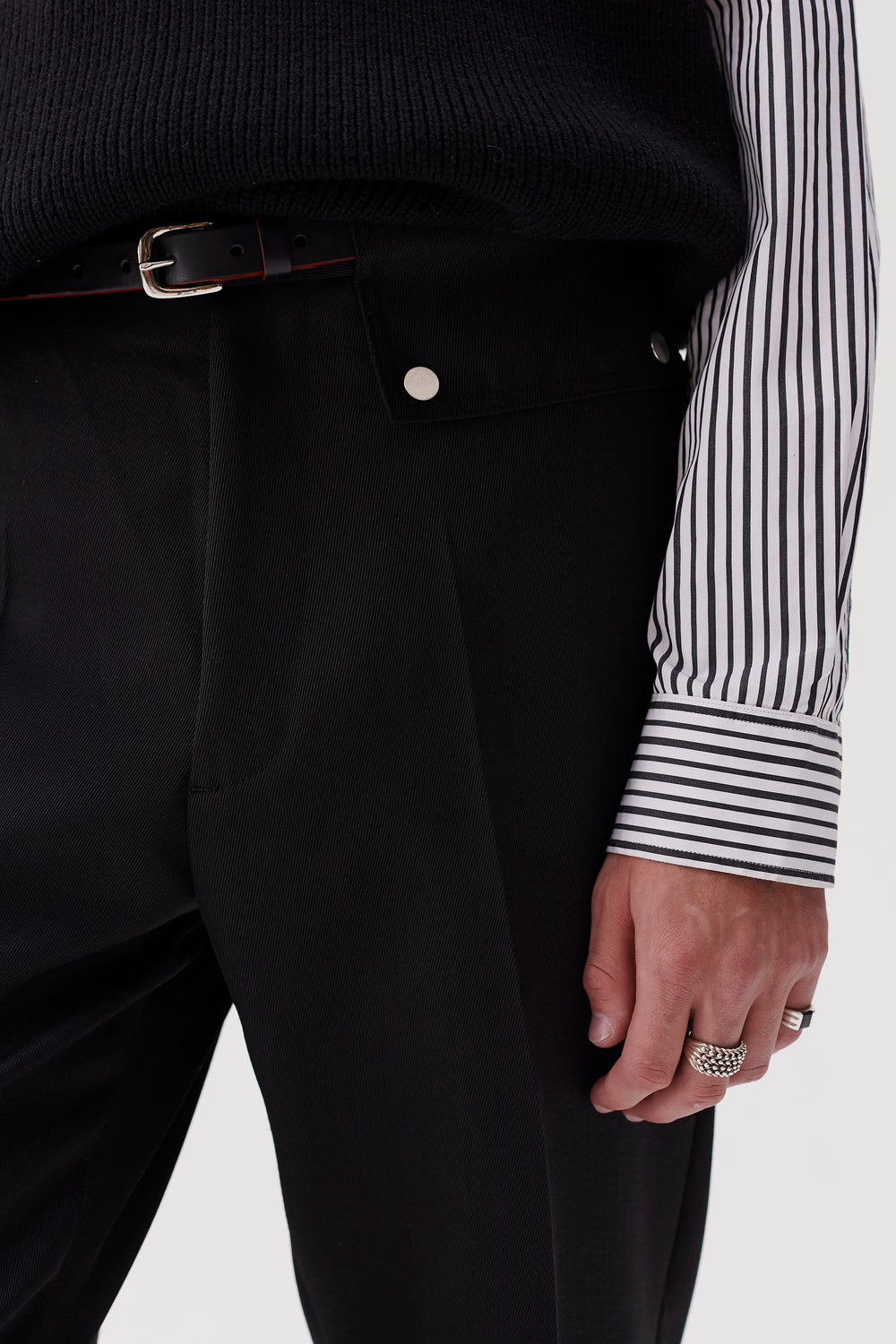 Stenson Tapered Trousers Black