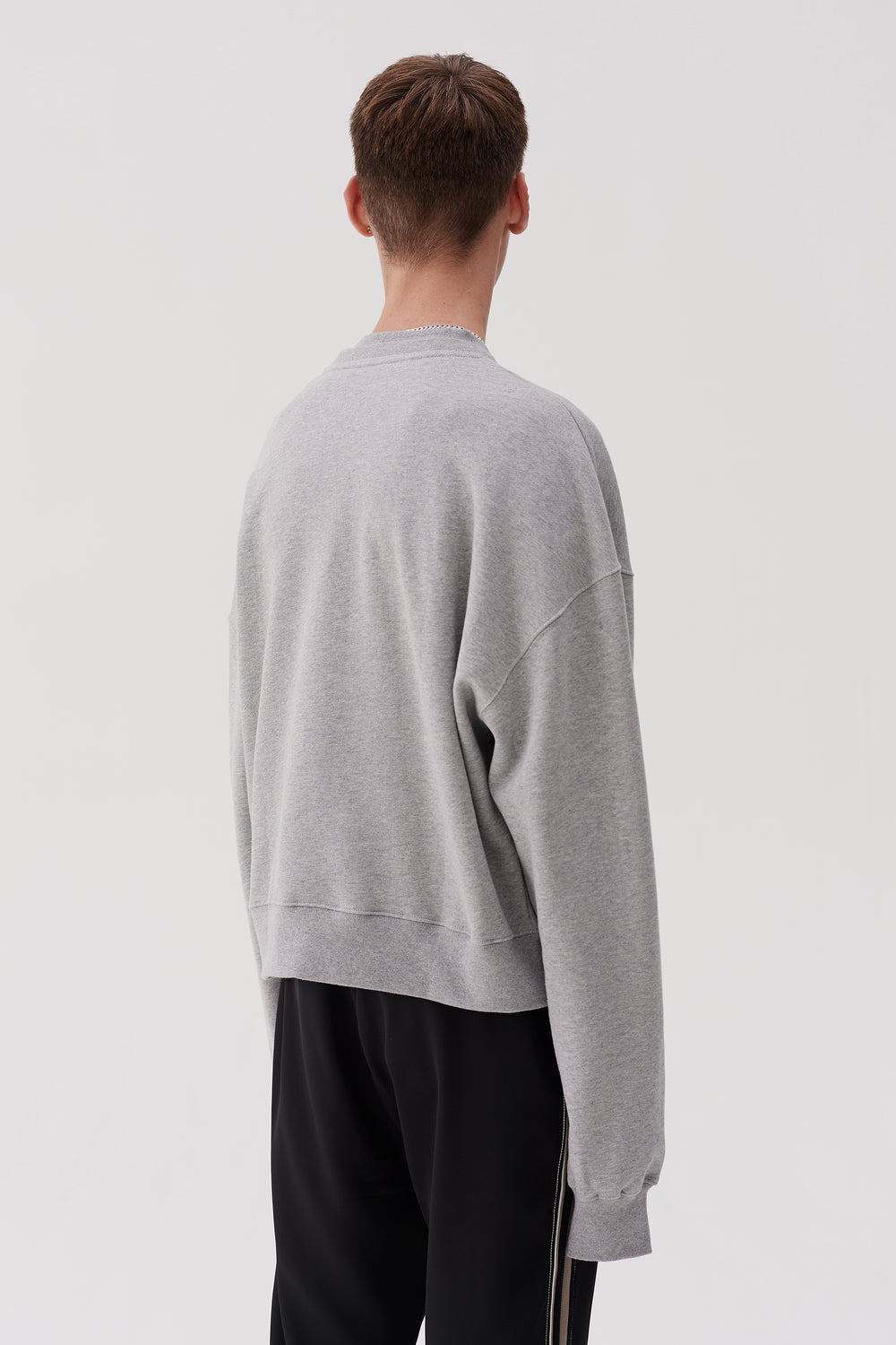 Tron Sweatshirt Heather Grey