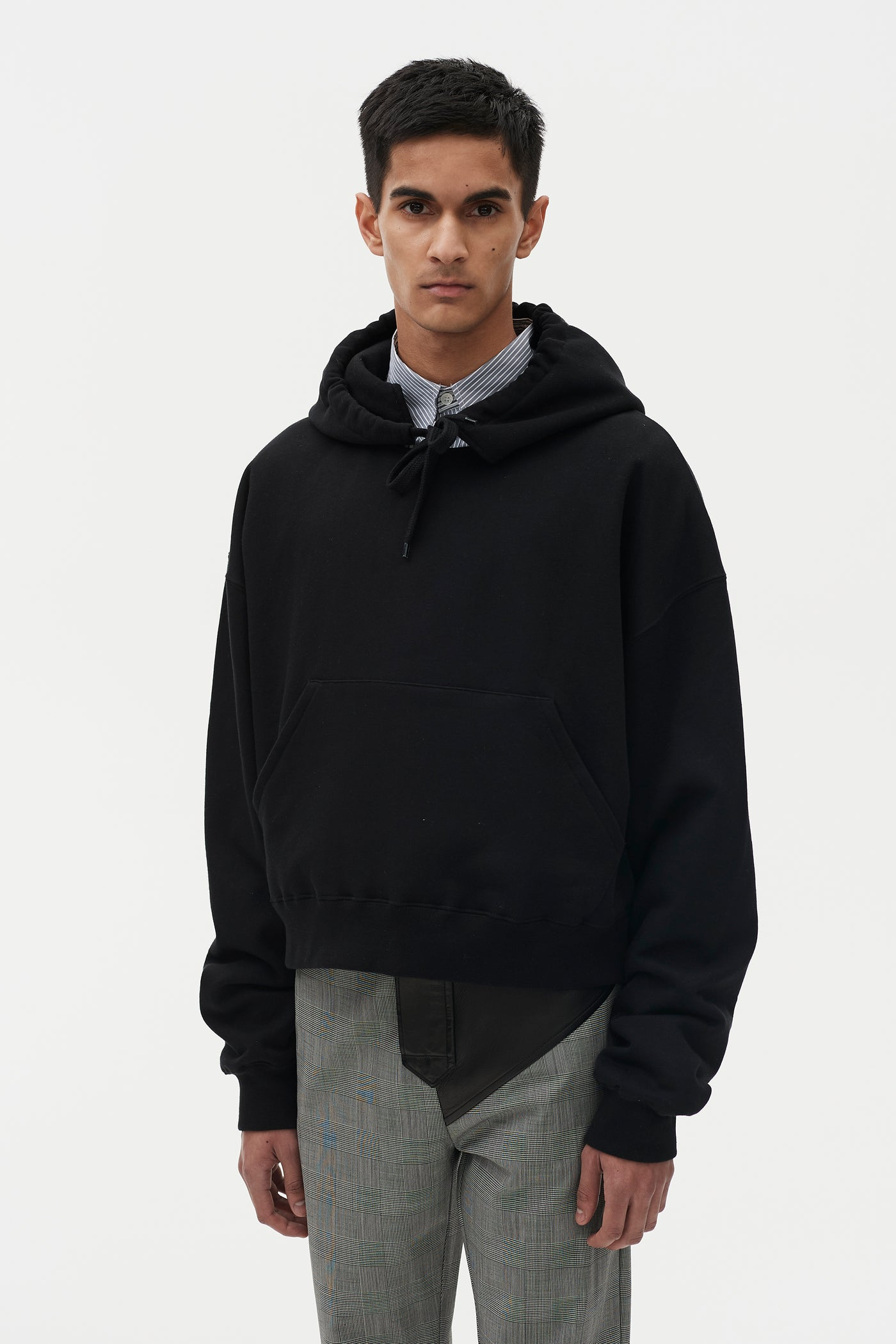 Tyrone Hooded Sweatshirt Black