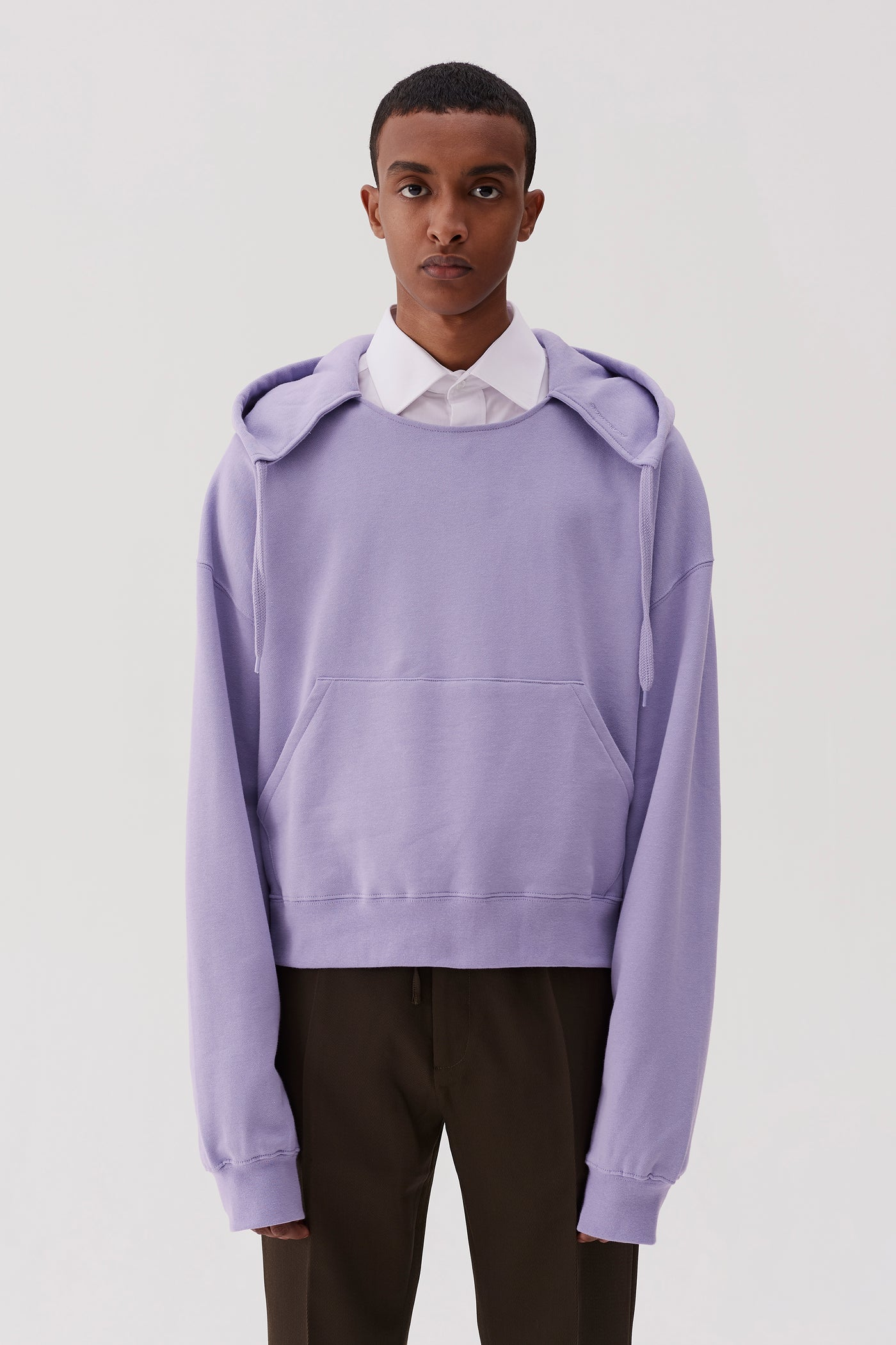 Tyrone Hooded Sweatshirt Lavender