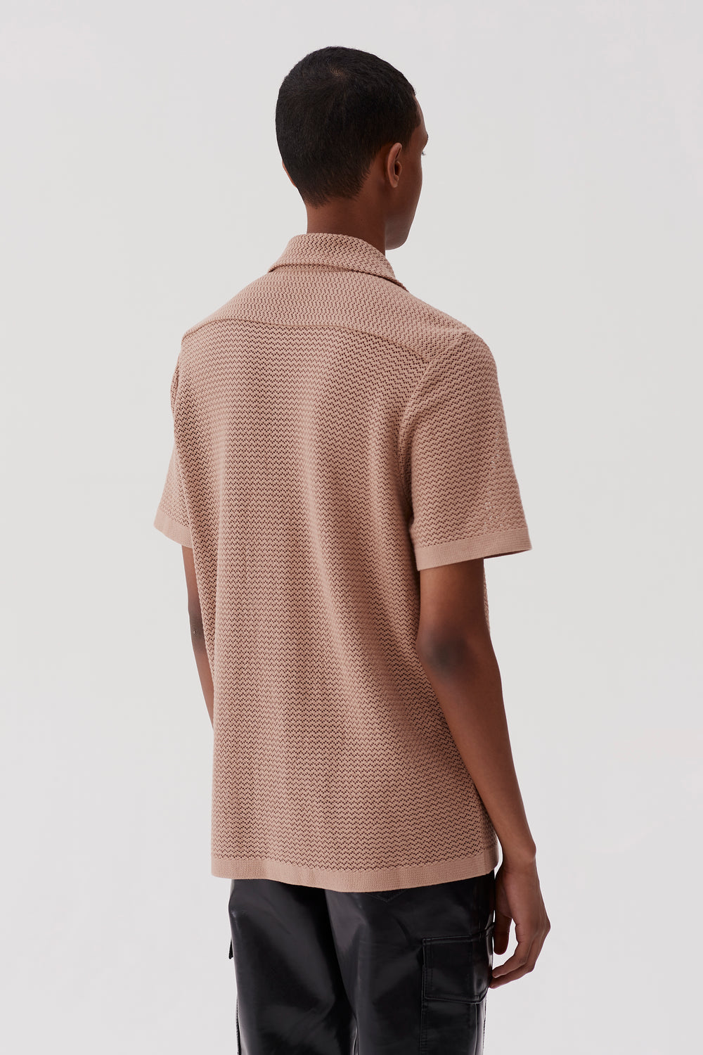 Wes Knitted Shirt Sand