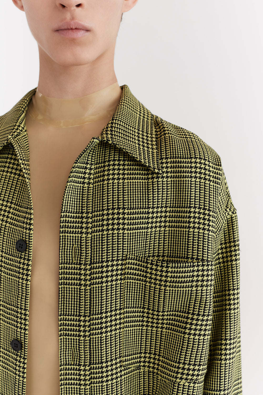 Sergey Overshirt Yellow Check