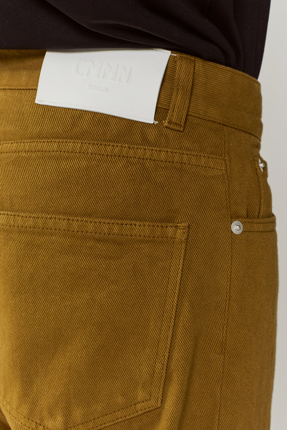Maxime 5 Pocket Jeans Olive Green