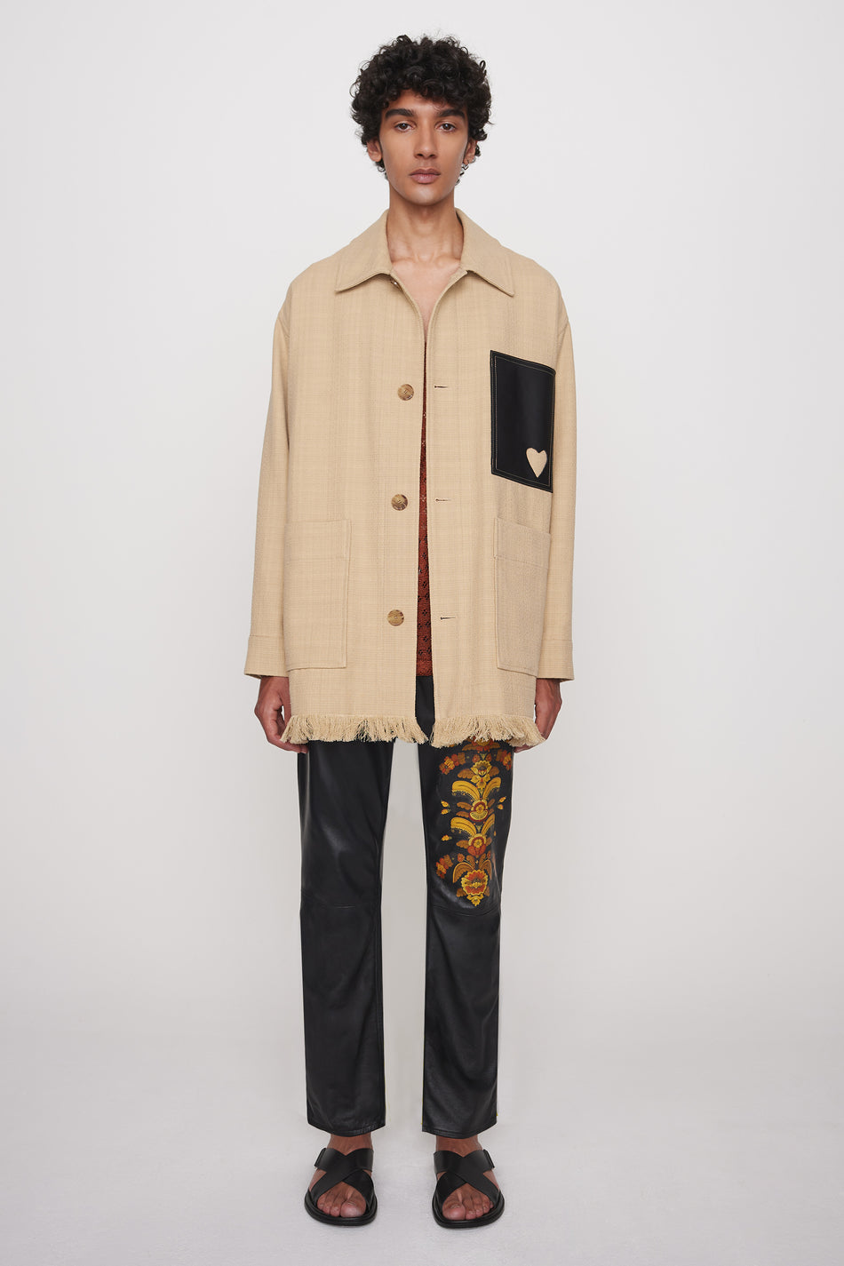 Carl painters jacket sand