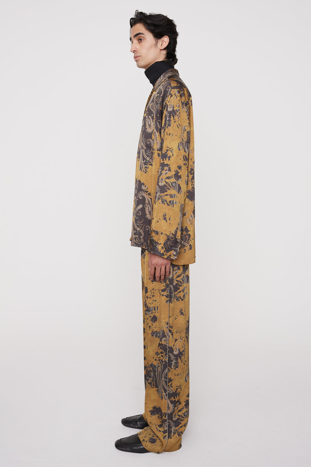 Kylo Pj-style trousers brown paisley