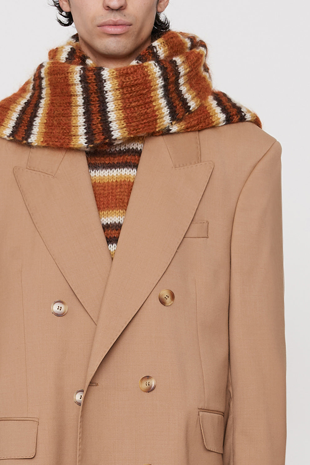 Ely DB coat camel