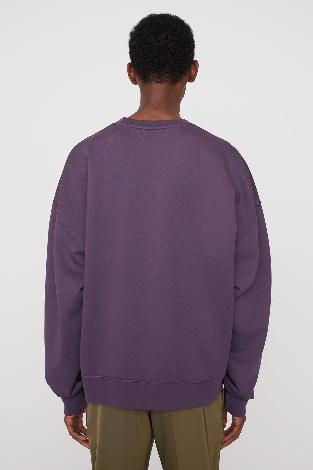 Trek relaxed-fit sweatshirt purple
