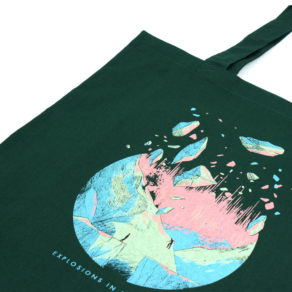 'Disintegration' Tote Bag
