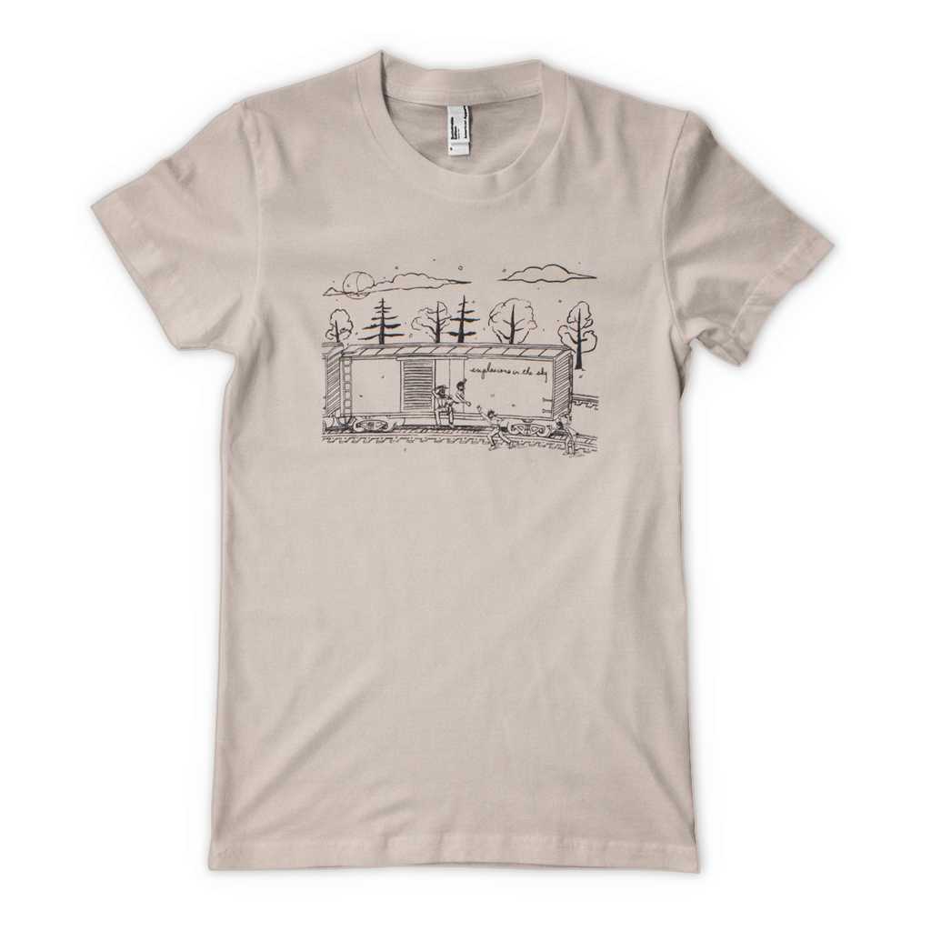 'Train' Women's T-Shirt - Natural