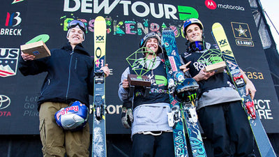 First Place Men's Ski Slopestyle Dew Tour