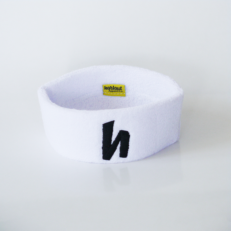 ICON SWEATBAND - WHITE