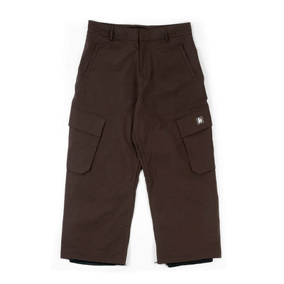 06' CARGO SNOWPANTS - WINE RED