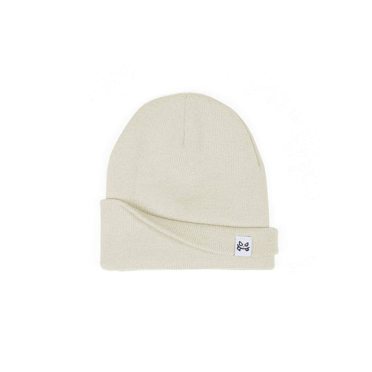 BAD GUY BEANIE - VANILLA