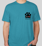 Short Sleeve Crew LHK9 Logo T-Shirt (Available in Red or Teal)