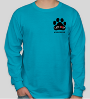 Long Sleeve LHK9 Logo Shirt (Available in Teal or Red)