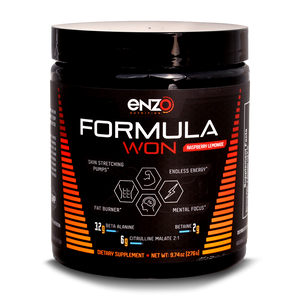 Enzo Nutrition:Formula Won Pre Workout