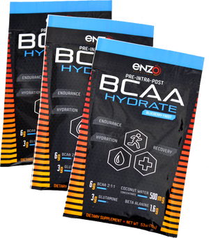 Enzo Nutrition:BCAA Hydrate - Go Packs - Single Serving