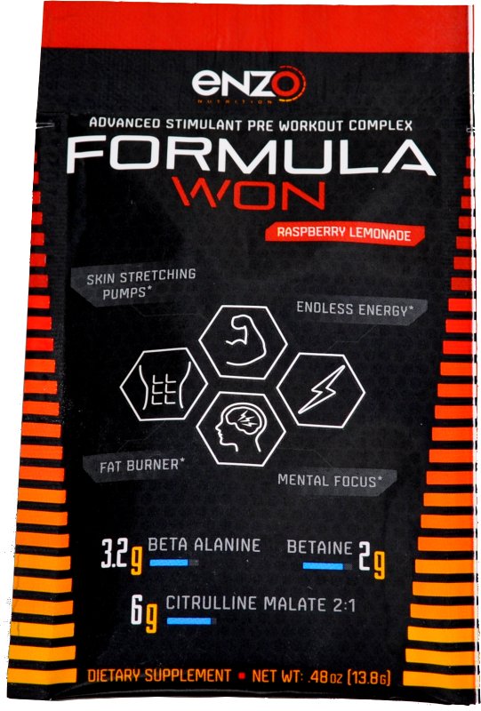 Formula Won - Go Packs - Single Serving