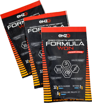 Enzo Nutrition:Formula Won - Go Packs - Single Serving