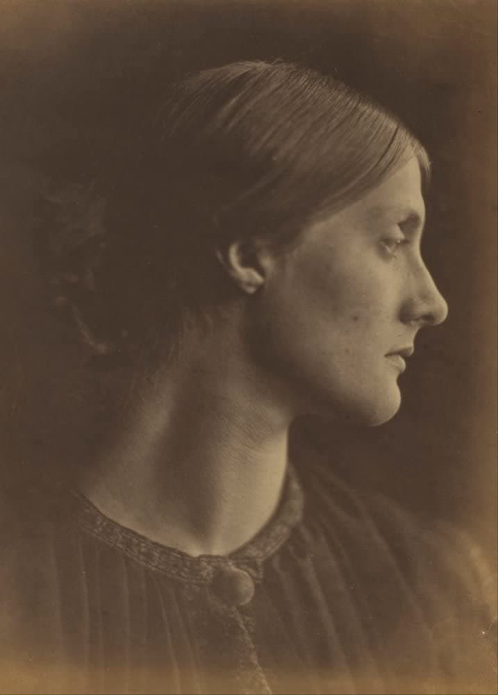 Julia Margaret Cameron 'Mrs, Herbert Duckworth, Later Mrs, Julia Stephen, Mother of Virginia Woolf', Germany, England, 1867, Reproduction 200gsm A3 Classic Vintage Photography Poster