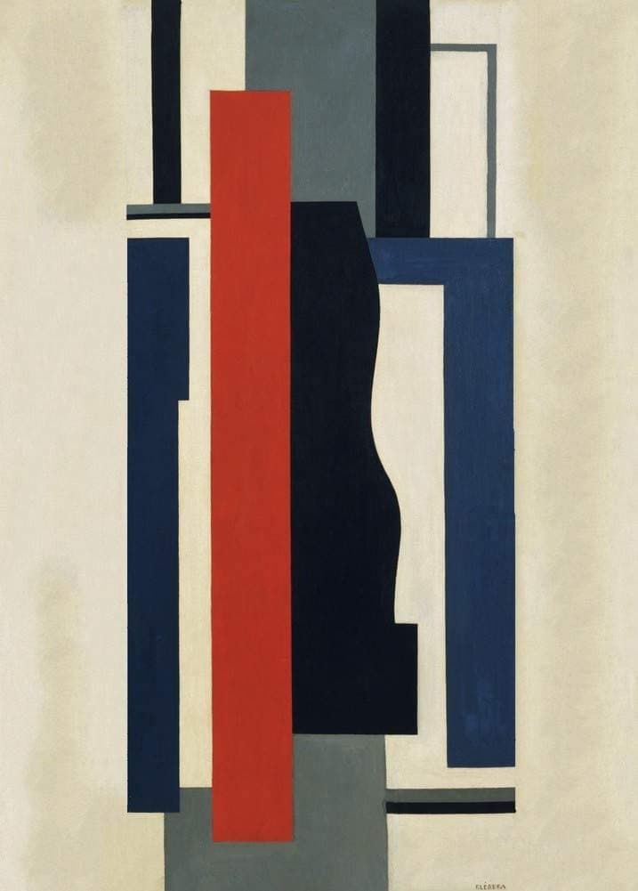 Fernand Leger 'Mural Painting', France, 1924, Reproduction 200gsm A3 Vintage Classic Art Poster