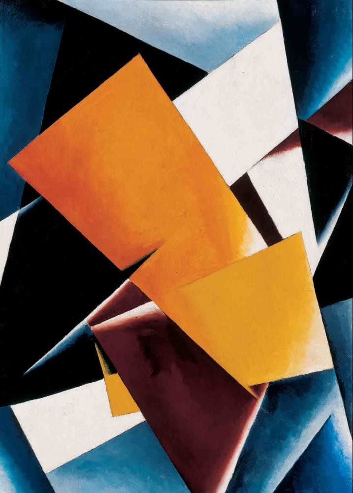 Lyubov Popova 'Painterly Architectonic', Russia, 1918, Reproduction 200gsm A3 Vintage Futurism, Suprematism, Constructivism Classic Art Poster
