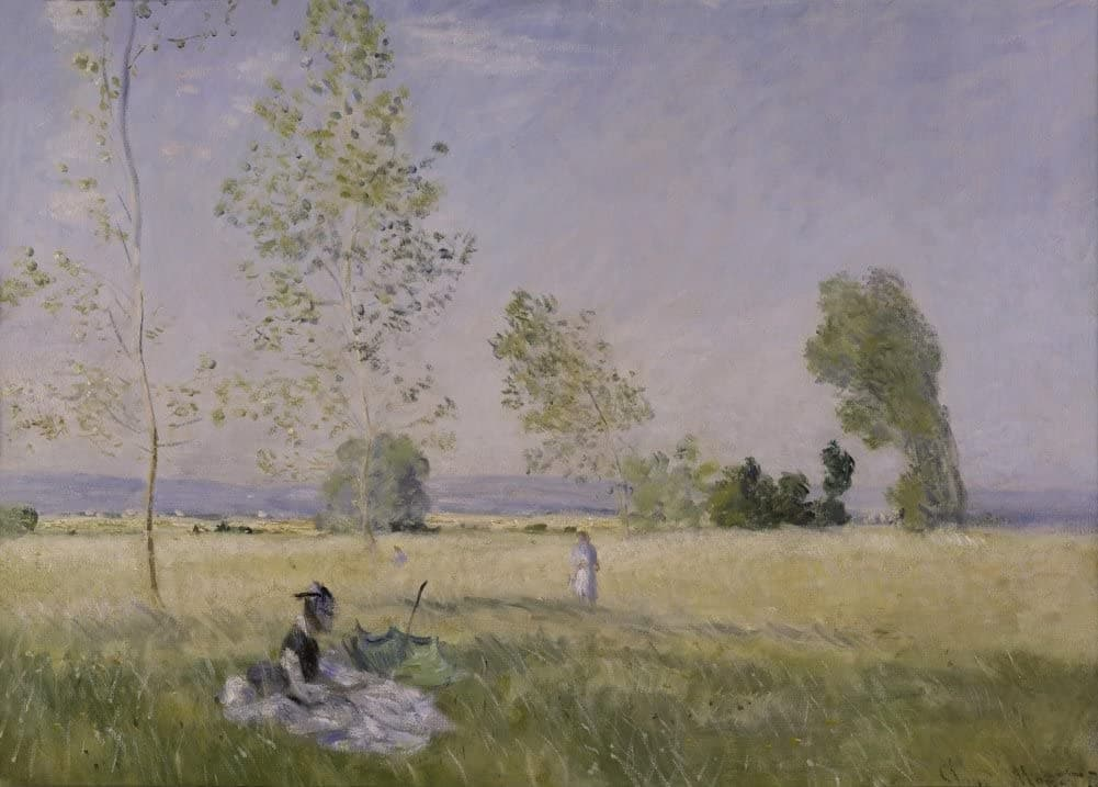 Claude Monet 'Summer', France, 1874, Impressionism, Reproduction 200gsm A3 Vintage Classic Art Poster