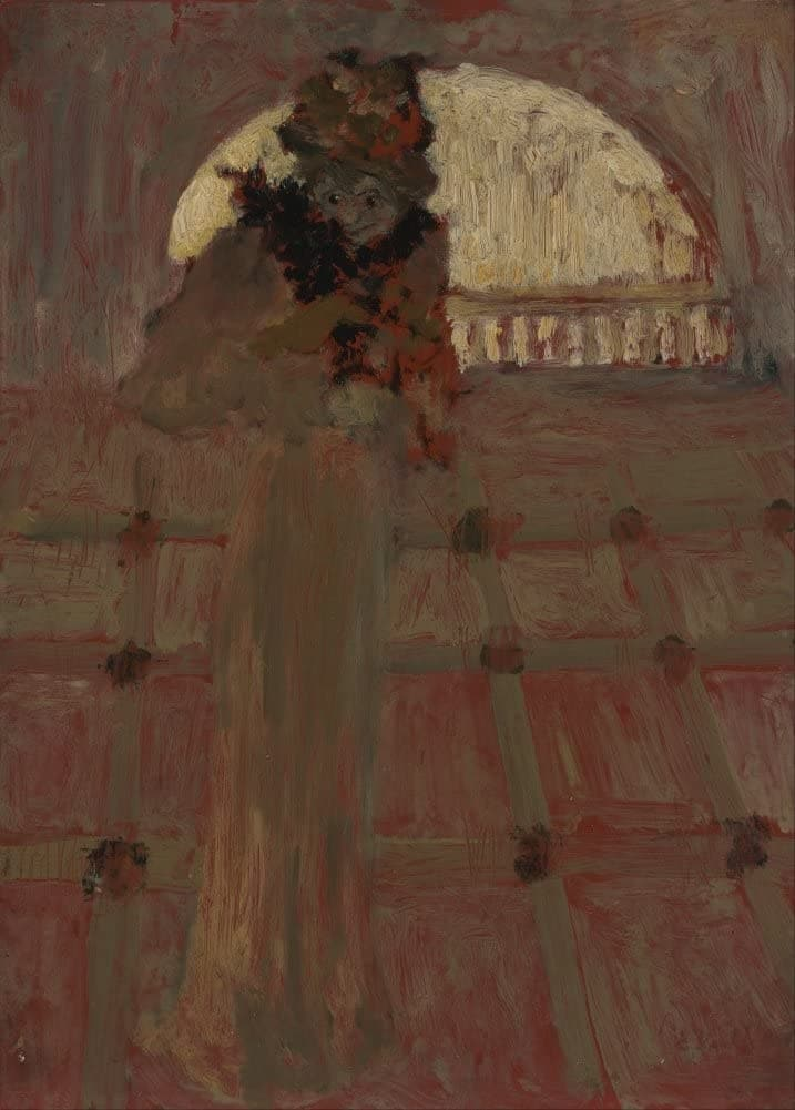 Edouard Vuillard 'The Opera', France, 1900, Impressionism, Reproduction 200gsm A3 Vintage Classic Art Poster