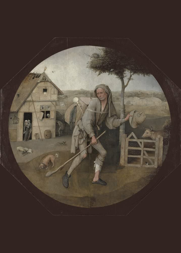 Hieronymus Bosch 'The Peddlar', Netherlands, 1495-1516, Reproduction 200gsm A3 Vintage Classic Art Poster