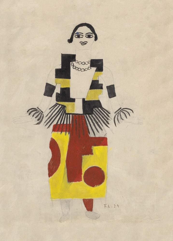Fernand Leger 'A Skater', France, 1900's, Reproduction 200gsm A3 Vintage Classic Art Poster