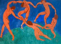 Henri Matisse 'Dance', France, 1910, Reproduction 200gsm A3 Vintage Classic Art Poster